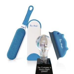 Fur Magic Pet Laundry Bag keeps washing machine free from dog cat hair large size